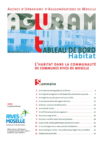 Tableau de bord habitat / CC Rives de Moselle – 2014
