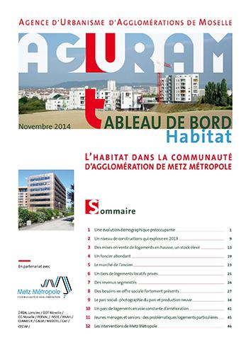 Tableau de bord habitat / Metz Métropole – 2014