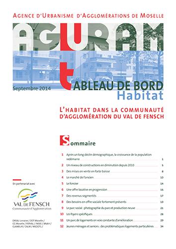 Tableau de bord habitat / CA du Val de Fensch – 2014