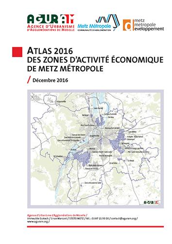Atlas des zones d'activité économique / Metz Métropole