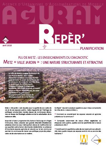 Repèr'Planification / Metz Ville jardin : une nature structurante et attractive !
