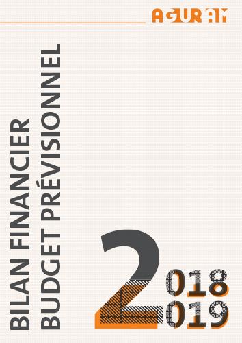 Bilan financier 2019 et budget prévisionnel 2019