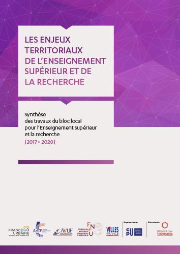 ENJEUX TERRITORIAUX DE L'ENSEIGNEMENT SUPÉRIEUR ET DE LA RECHERCHE / SYNTHÈSE 2017 > 2020